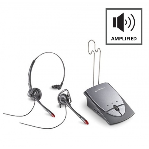 Plantronics S12 Headset & Amplifier Package