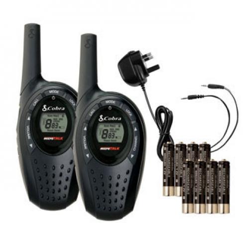 Cobra MT600-2VP PMR Radio Twin Pack
