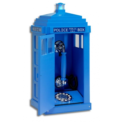 Police Box Telephone - Dr Who Phone Box