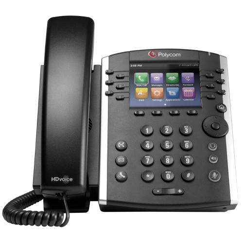 Polycom VVX400 HD Voice Phone - No PSU