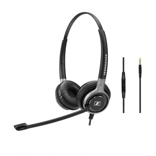 Sennheiser Century SC665 Binaural Headset With 3.5mm Jack - New