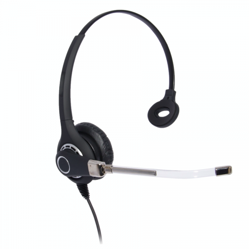 Professional Monaural Headset Compatible With Grandstream GXP1760