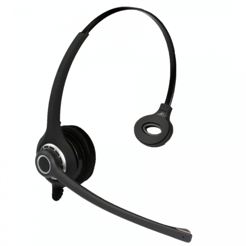 Grandstream GXP1760W Professional Monaural Noise Cancelling Headset