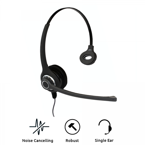 Project 102 Monaural Noise Cancelling Office Headset