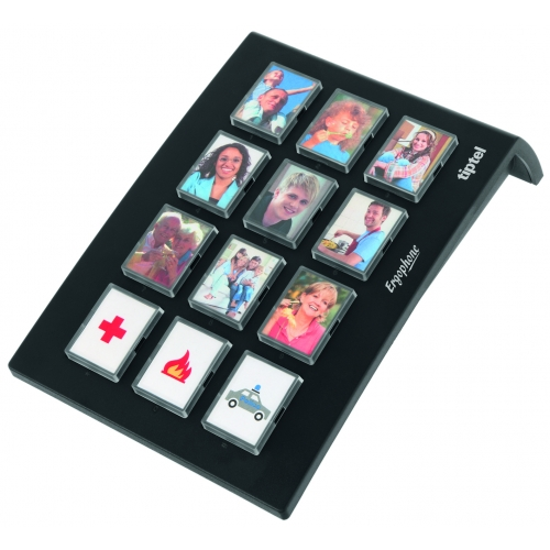 Tiptel Ergophone 12 Photo Dialing Pad