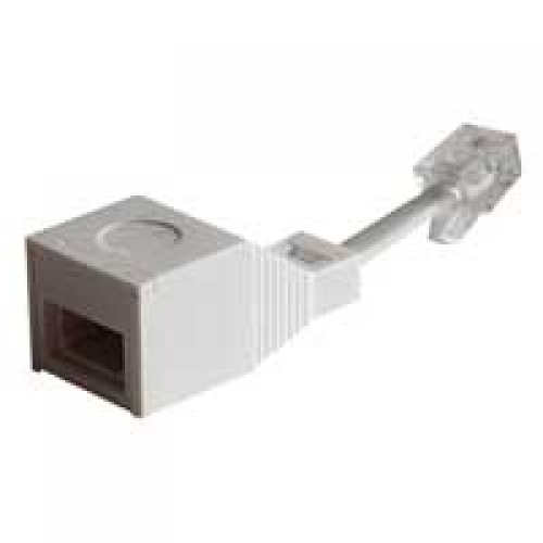 RJ11 Plug to BT Socket (4 Pin) 10 Metre Length