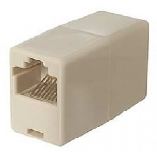 RJ45 Coupler Pin 1 to Pin 1 (8 Way)