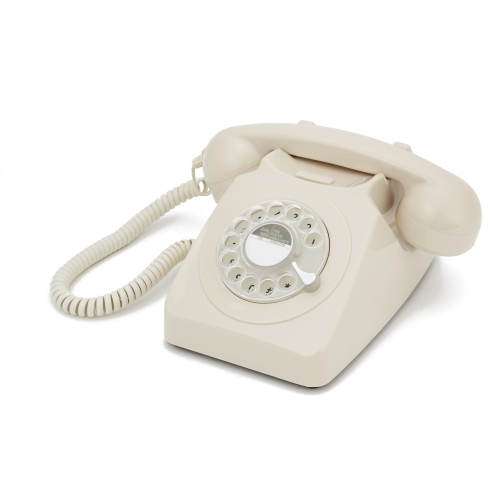 GPO 746 Rotary Dial Telephone - Ivory