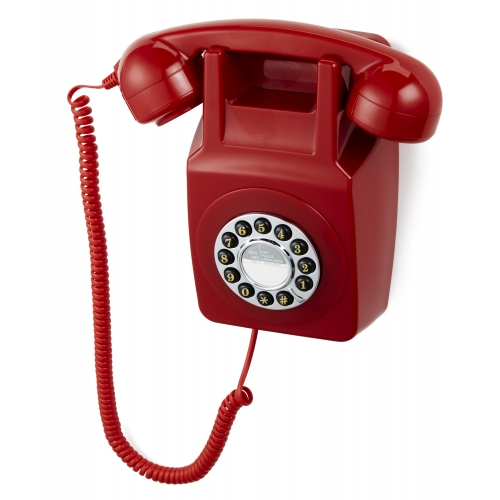 GPO 746 Wallphone - Red