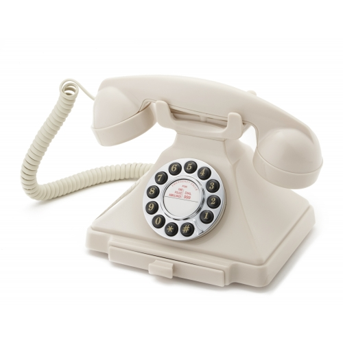 Classical GPO 1929S Carrington Push Button Telephone - Ivory