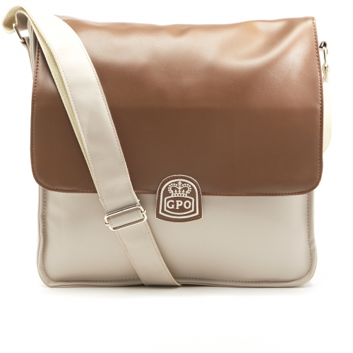 GPO Record Bag Cream/Tan