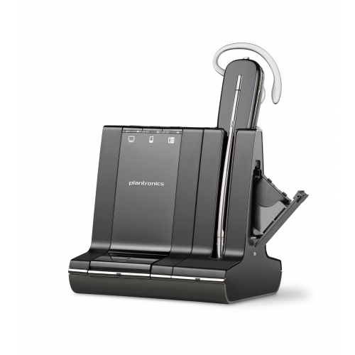 Plantronics Savi Office W745 Convertable Cordless Headset For PC, Desk Phone & Mobile