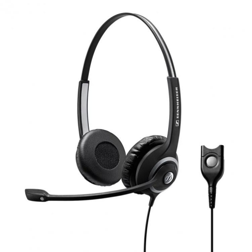 Sennheiser SC 268 Binaural Narrowband Quick Disconnect Headset - New