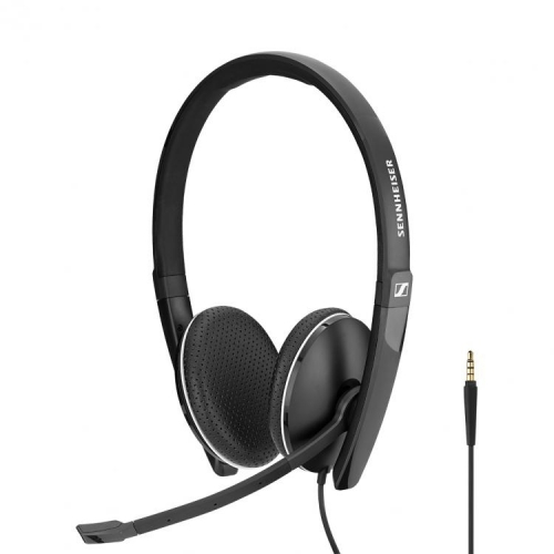 Sennheiser SC 165 Binaural Headset With 3.5mm Jack - New