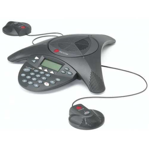 Polycom Soundstation 2 EX - Including Mics Audio Conferencing Phone