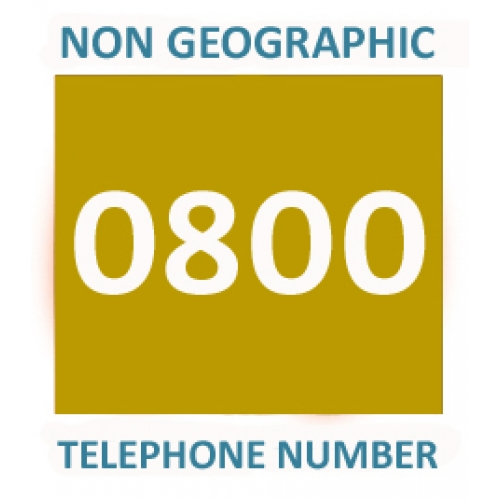 0800 - Gold Telephone Number