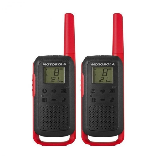 Motorola Talkabout T62 PMR446 Radio - Twin Pack - Red - New