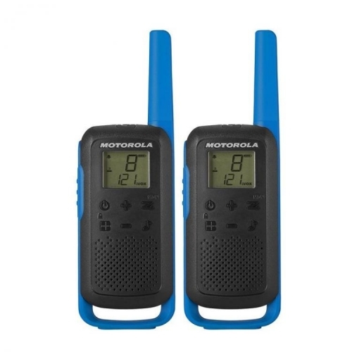 Motorola Talkabout T62 PMR446 Radio - Twin Pack - Blue - New