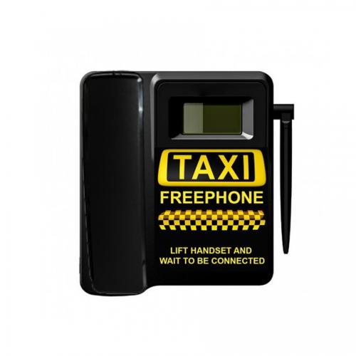 TELECOM500 GSM Taxi Phone With Faceplate - No Button - Black - Design 1