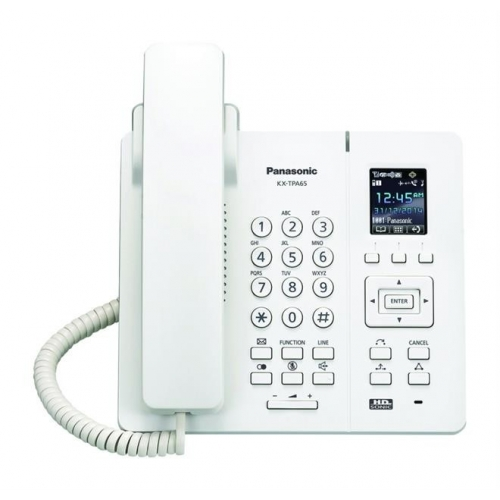 Panasonic KX-TPA65 Wireless Desk Phone - White