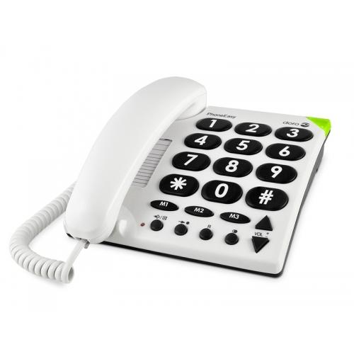 Doro Audioline PhoneEasy 311c Big Button Phone