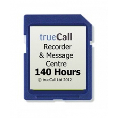 trueCall Call Recorder - 140 Hours Card