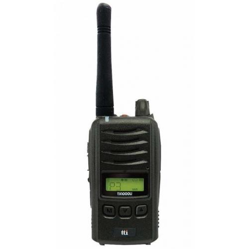 TTI TX-1000U IP67 Rated PMR446 Licence Free Two Way Radio