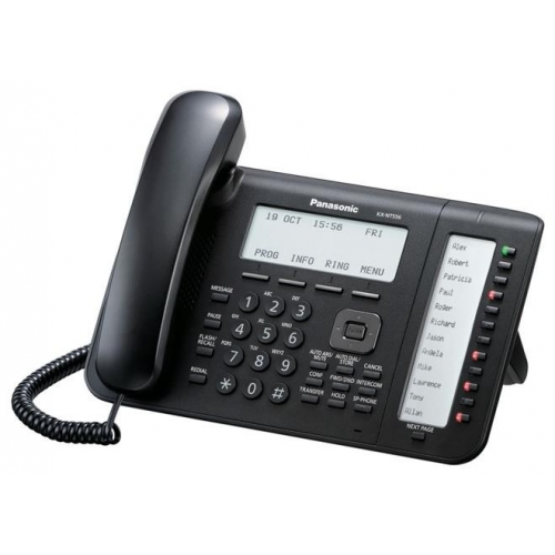Panasonic KX-NT556 IP Phone - Black
