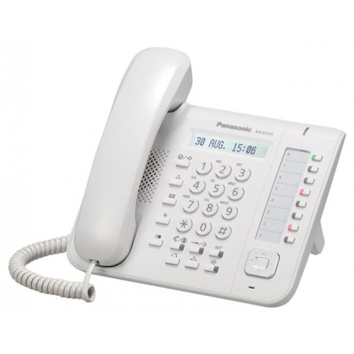 Panasonic KX-NT551 Standard IP Phone - White