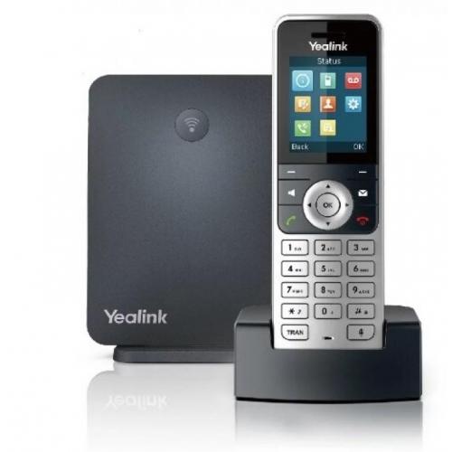 Yealink W53P Wireless IP DECT System - Yealink W53H DECT Handset & Yealink W60B Base Station - New