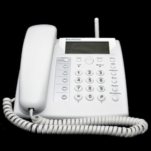 Burnside P355 GSM Mobile Desk Phone - White