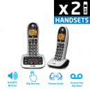 BT 4600 Big Button DECT Cordless Phone With Answering Machine & Nuisance Call Blocker - Twin