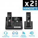 BT Diverse 7460 Plus DECT Cordless Phone - Twin Pack