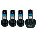 BT Synergy 4500 Quad Pack DECT Tam