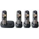 Panasonic KX-TG 7304 EB Quad DECT Cordless Phone