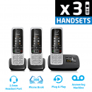 Gigaset C430A DECT Cordless Phone With Answering Machine - Triple