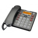Amplicomms Powertel 58 Desk Phone with Answer Machine