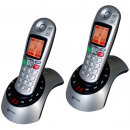 Geemarc Telecom AmpliDECT 230 DECT Twin Handset With answering Machine