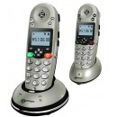 Geemarc Amplidect 350 DECT Cordless Phone - Twin Pack