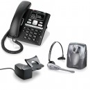 BT Paragon 650 Corded Telephone With Answering Machine and Plantronics CS60 DECT Wireless Headset A-Grade (36995-01) and Plantronics HL10 Lifter (36390-14) Bundle
