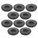 Jabra Biz 2400 II Headset Large Leatherette Ear Cushions (10 Pack)