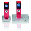 BT Verve 500 DECT Twin with Answering Machine - Red