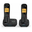 BT 1700 DECT Cordless Phone With Answering Machine & Nuisance Call Blocker -Twin