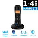 BT Everyday Phone With Answering Machine - (1-4 Handsets) - New