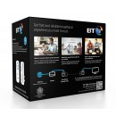 BT Broadband Extender Flex 1000 AV Homeplug Powerline Adapter Kit