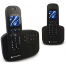 Motorola D1112 DECT Twin Cordless Phone with Answering Machine