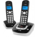 Doro Adapto8 DECT with Answering Machine - Twin Pack