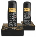 Doro NeoBio 20+1 DECT Twin Pack Cordless Phone