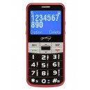 Easy Lux Sim Free Cordless Phone - Red