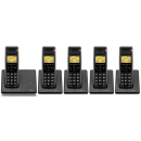 BT Diverse 7110 Plus DECT Cordless Phone - Quint Pack